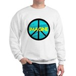 IMAGINE with PEACE SYMBOL Sweatshirt