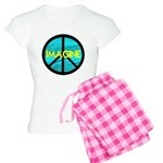IMAGINE with PEACE SYMBOL Women's Light Pajamas