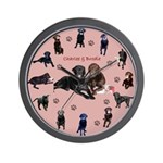 Charlee and BrodieWall Clock