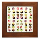 Cupcakes Framed Tile