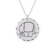 Cafe Elefant-1 Necklace