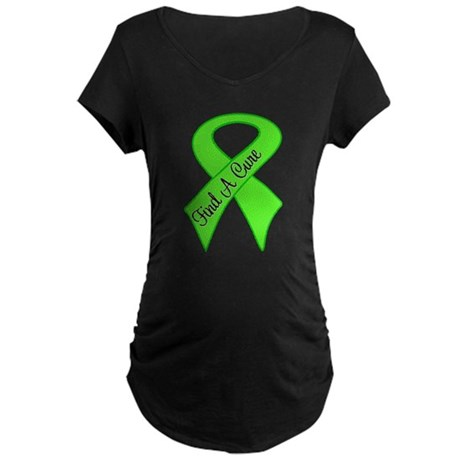 Find a Cure Non-Hodgkins Maternity Dark T-Shirt