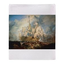 Battle of Trafalgar Throw Blanket