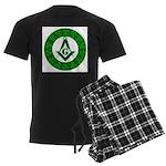 For the Irish Freemason Men's Dark Pajamas