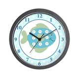 Fishy Ocean Theme Wall Clock