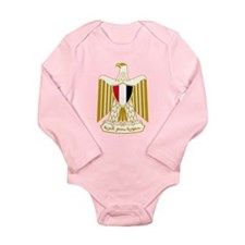 Egypt Eagle Plain Long Sleeve Infant Bodysuit