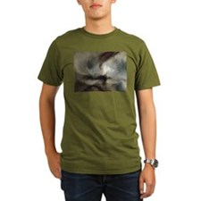 Snow Storm Steam Boat T-Shirt