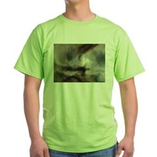 Snow Storm Steam Boat T-Shirt