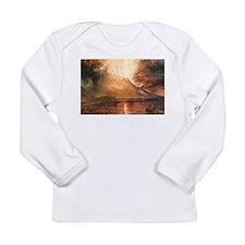Vesuvius Erupting Long Sleeve Infant T-Shirt
