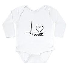 Seattle Grace Hospital Long Sleeve Infant Bodysuit