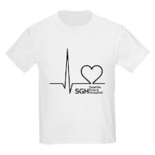Seattle Grace Hospital Kids Light T-Shirt