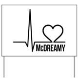 McDreamy Grey's Anatomy Yard Sign
