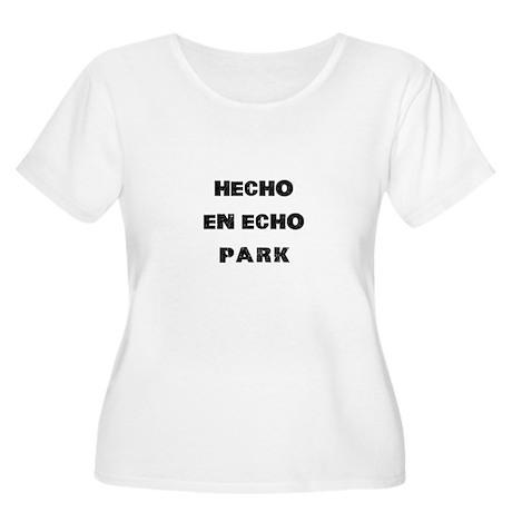 Hecho En Echo Park Women's Plus Size Scoop Neck T-