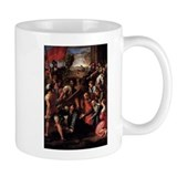 Christ Falls on the Way to Ca Small Mug