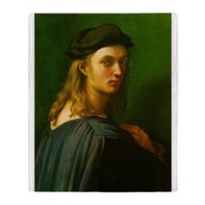 Portrait of Bindo Altoviti Throw Blanket