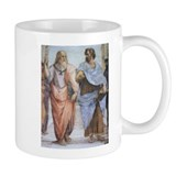 School of Athens (detail - Pl Small Mug