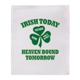 Irish Heaven Bound Throw Blanket