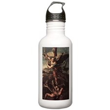 St Micheal and the Devil Water Bottle