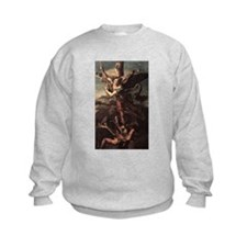 St Micheal and the Devil Sweatshirt