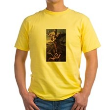 St Micheal and the Devil T