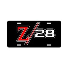 Z28 Aluminum License Plate