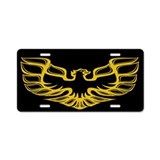 Firebird / Trans Am Aluminum License Plate