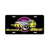 Rumble Bee Aluminum License Plate