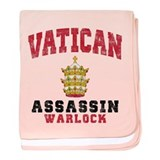 Vatican Assassin baby blanket