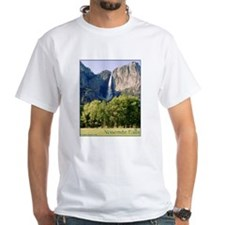 Yosemite Falls t-shirt--white