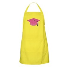 Pink Graduation Hat Apron Gift for Grad