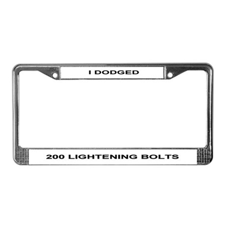 200 Lightning Bolt Frame
