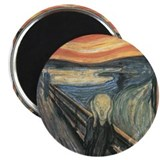Munch's &quot;The Scream&quot; Magnet