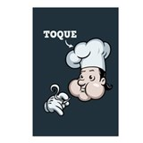 Toque Postcards (Package of 8)