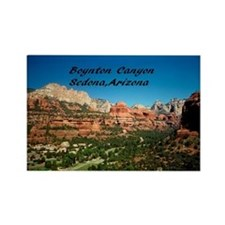 Boynton Canyon Rectangle Magnet