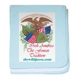 Irish-Amerians: The Fenian Tradition baby blanket