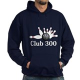 Club 300 Logo 6 Hoodie Design Front Center