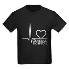 I Love General Hospital Kids Dark T-Shirt