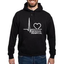 I Love General Hospital Hoodie (dark)