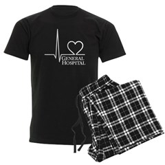 I Love General Hospital Men's Dark Pajamas