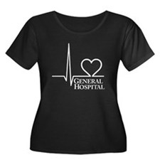 I Love General Hospital Women's Plus Size Scoop Ne