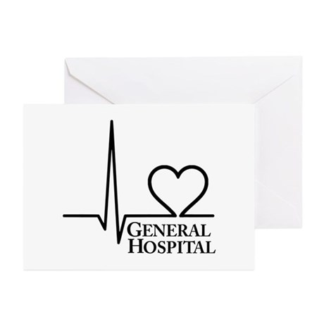 I Love General Hospital Greeting Cards (Pk of 10)
