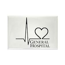 I Love General Hospital Rectangle Magnet (10 pack)