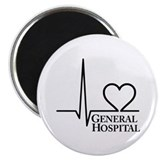 "I Love General Hospital 2.25"" Magnet (10 pack)"