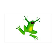 Feeling Froggy 38.5 x 24.5 Wall Peel
