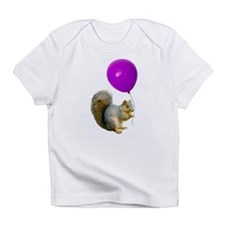Squirrel Balloon Infant T-Shirt