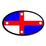 Lochac Populace Sticker (Oval)