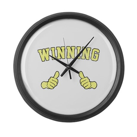 Winning Large Wall Clock