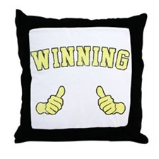 Winning Throw Pillow