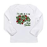 In My Rose Garden Long Sleeve Infant T-Shirt