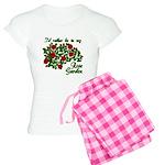 In My Rose Garden Women's Light Pajamas